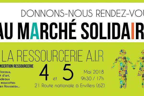 Marché Solidaire – 4 et 5 mai 2018