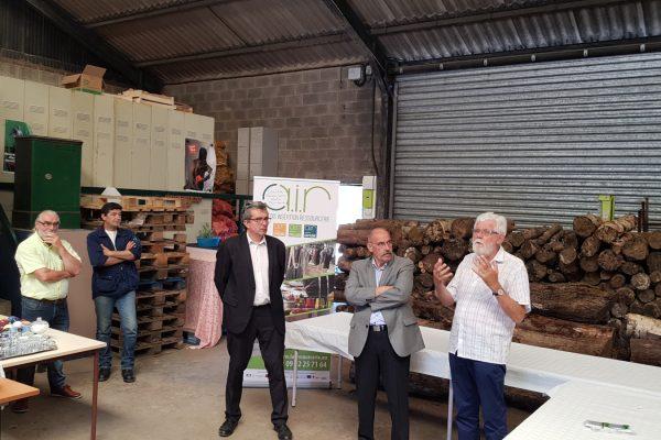 Retour sur l'inauguration de la nouvelle éco-activité «Bois Durieu»