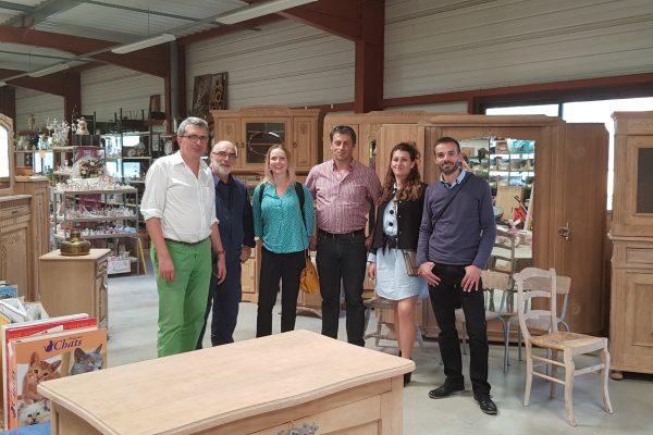 Visite de VALDELIA, Eco-organisme et partenaire de la Ressourcerie AIR