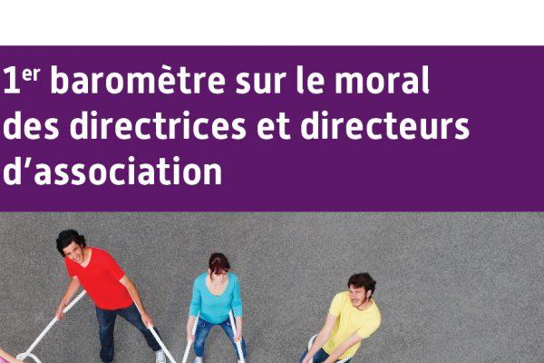 1er baromètre sur le moral des directrices et directeurs d'association
