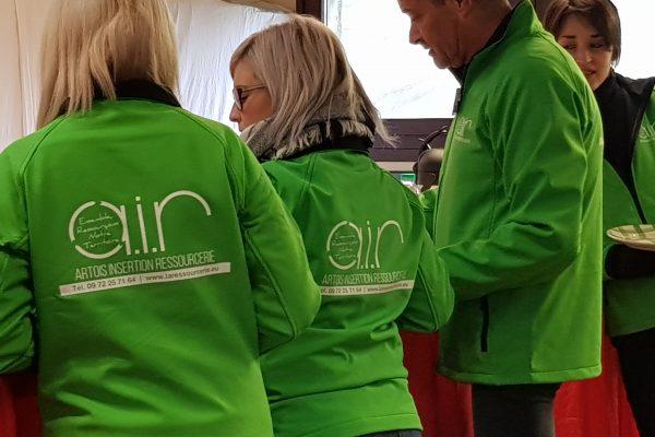 Nouvelles tenues pour l'équipe de vente des Ressourceries AIR