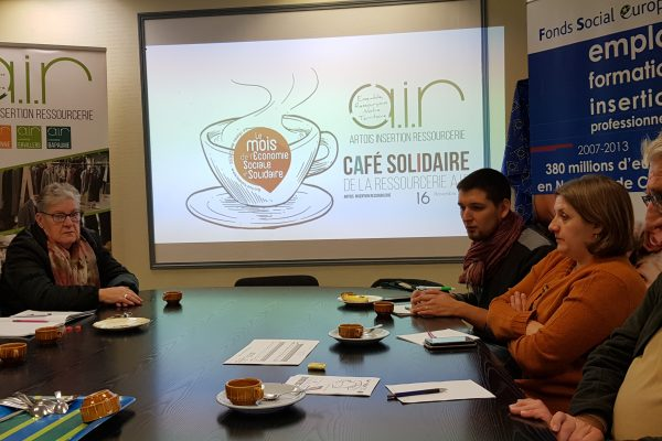 Retour du Café Solidaire « Europe et Economie Sociale et Solidaire »