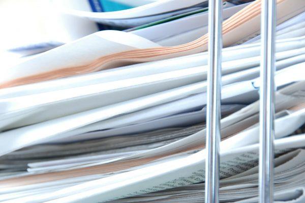 Le papier : toujours très utilisé au bureau !!!
