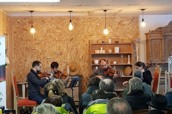 Un lieu d'échanges, de rencontres et de partage avec le Quatuor Tana…
