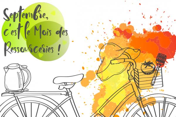 A Péronne aussi, en Septembre, c'est le mois des Ressourceries !