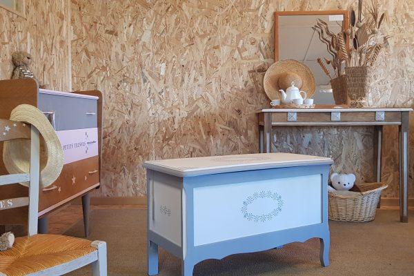 La Ressourcerie AIR de Péronne a ouvert son nouveau « corner » dédié aux meubles relookés
