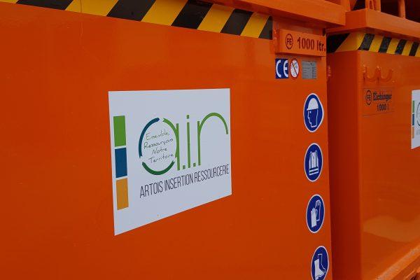 La Ressourcerie AIR, un nouvel investissement dans des bennes de tri de déchets de chantiers à Ervillers (62)…