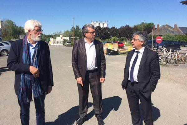 Visite de Monsieur Laurent SOMON, Président du Conseil Départemental de la Somme
