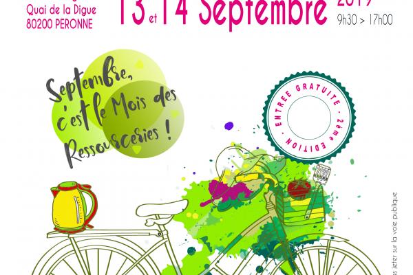 Grande vente solidaire à la Ressourcerie à Péronne (Somme)