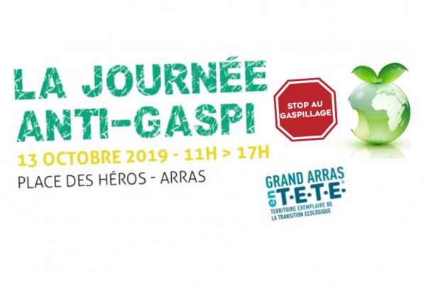 Deuxième édition de la Journée anti-gaspi à Arras (Pas-de-Calais)