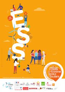 Affiche 2019 - Mois de l'Economie Sociale et Solidaire