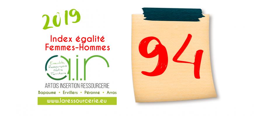 Index Egalité Femmes-Hommes : 94 sur 100