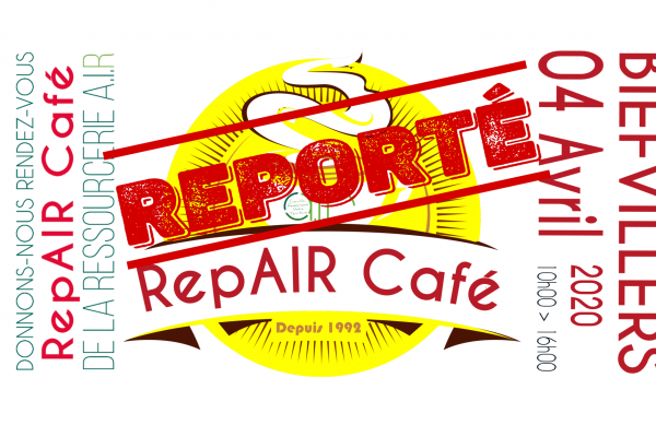 Report du RepAIR Café à Biefvillers-les-Bapaume