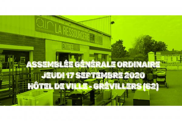 Assemblée Générale Ordinaire du Jeudi 17 Septembre 2020
