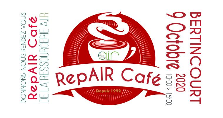 La Ressourcerie AIR organise un RepAIR Café ce vendredi 9 octobre de 10h00 à 16h00 à Bertincourt (Pas-de-Calais)... Un français dépose en moyenne chaque année 225 kilos à la déchetterie… A cela, on peut ajouter les 365 kilos d'ordures ménagères qu'il jette à la poubelle…